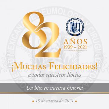 Celebramos 82 años de vida: ¡muchas felicidades para todos!