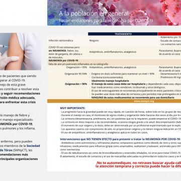 Guías Generales de Tratamiento para COVID–19 de la SMNyCT | 1