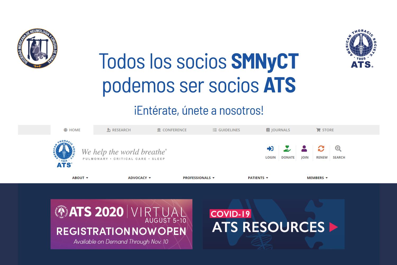 Nueva membresía con ATS: nuestros asociados de parabienes