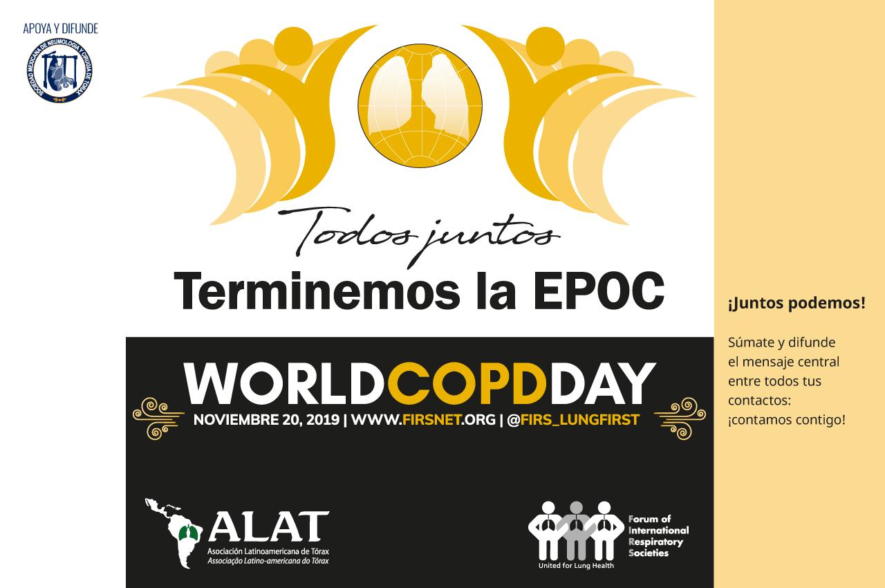 Todos juntos para poner fin a la EPOC: posición del Foro de Sociedades Respiratorias Internacionales