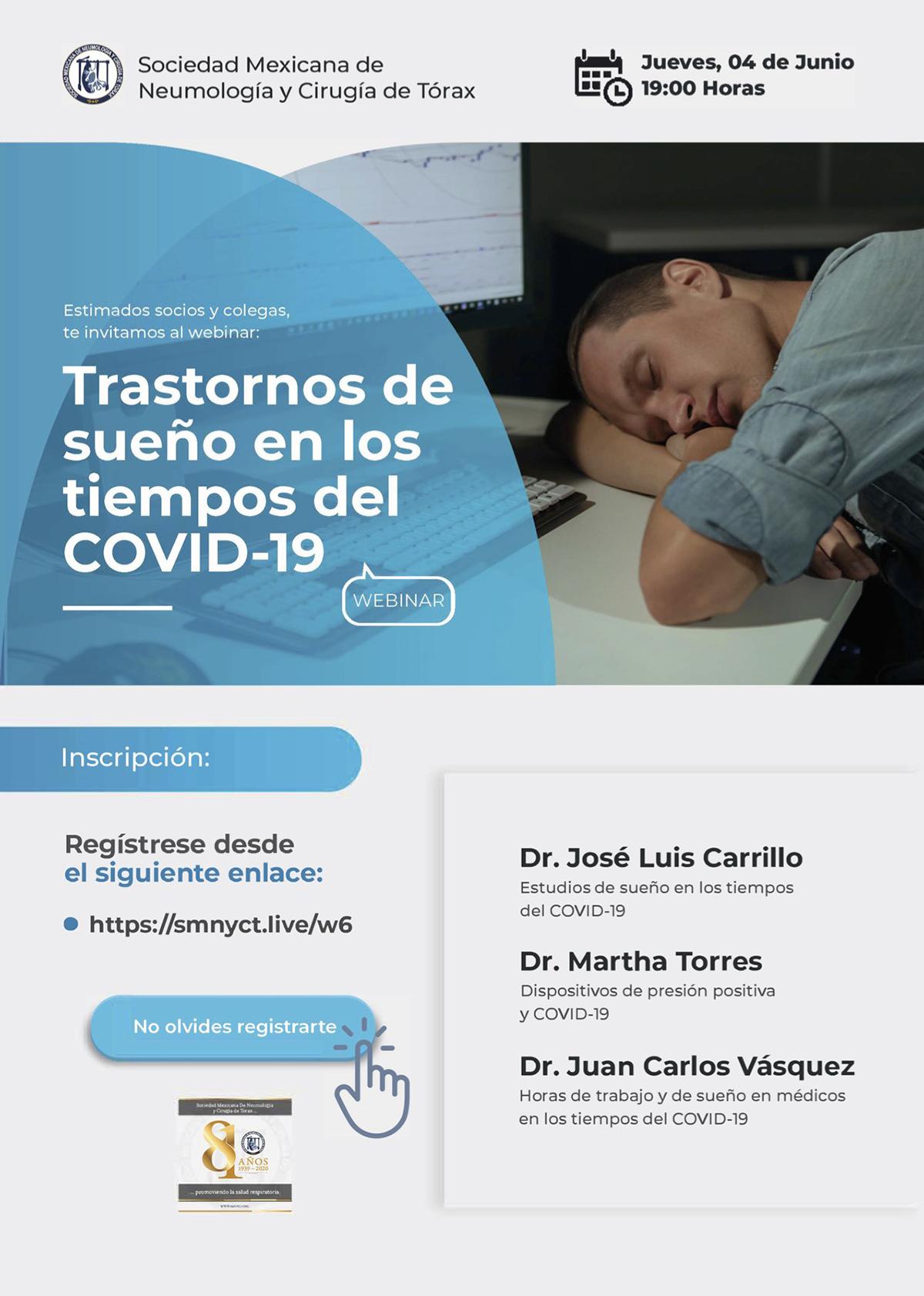 Trastornos del sueño en tiempos de COVID-19