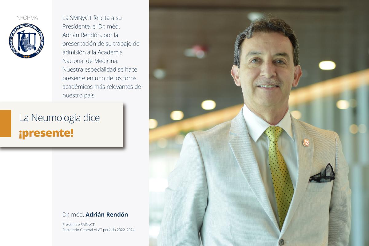Un momento especial y destacado en la Academia Nacional de Medicina de México