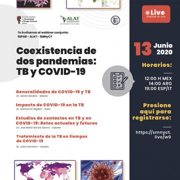 Webinar: Coexistencia de dos pandemias: TB y COVID-19