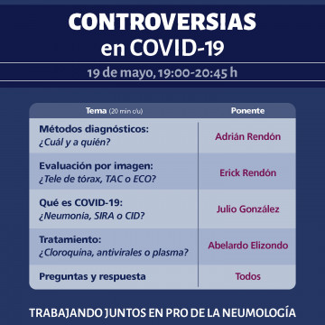 Webinar Controversias en COVID-19