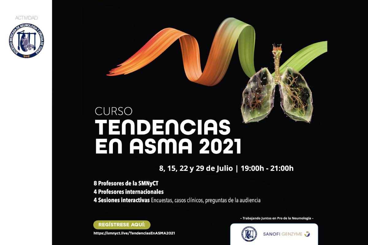 """Curso """"Tendencias en Asma 2021""""   Módulo 4"""